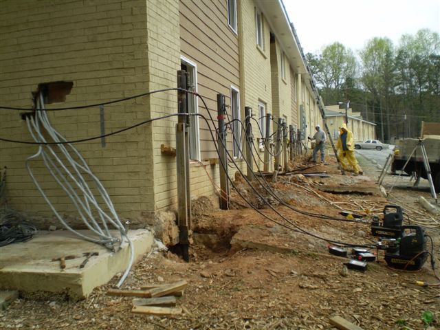 Commercial Foundation Repair Savannah GA