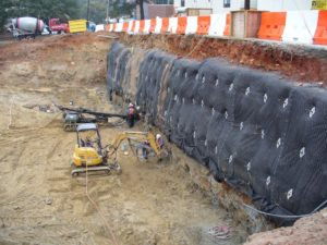 Soil Nail Wall Atlanta GA