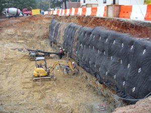 Shoring for Excavation Atlanta GA